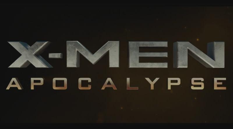 Bild vom Schriftzug des Films X-Men Apocalypse