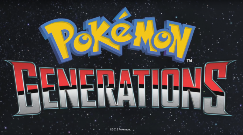 Logo der YouTube-Serie Pokemon Generations