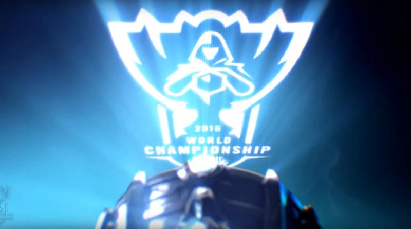 Logo der League of Legends Worlds 2016