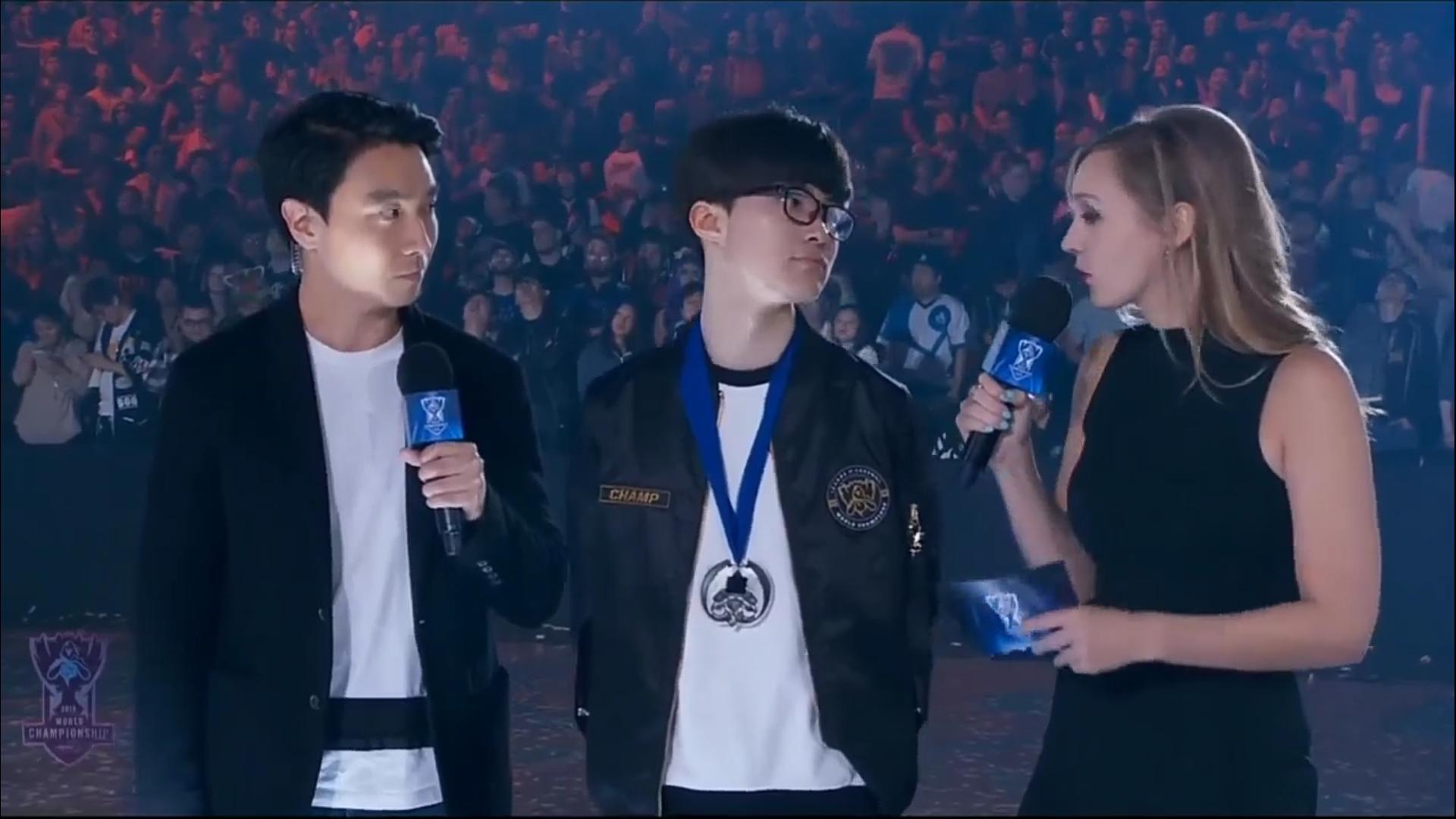 MVP SKT Faker im Interview