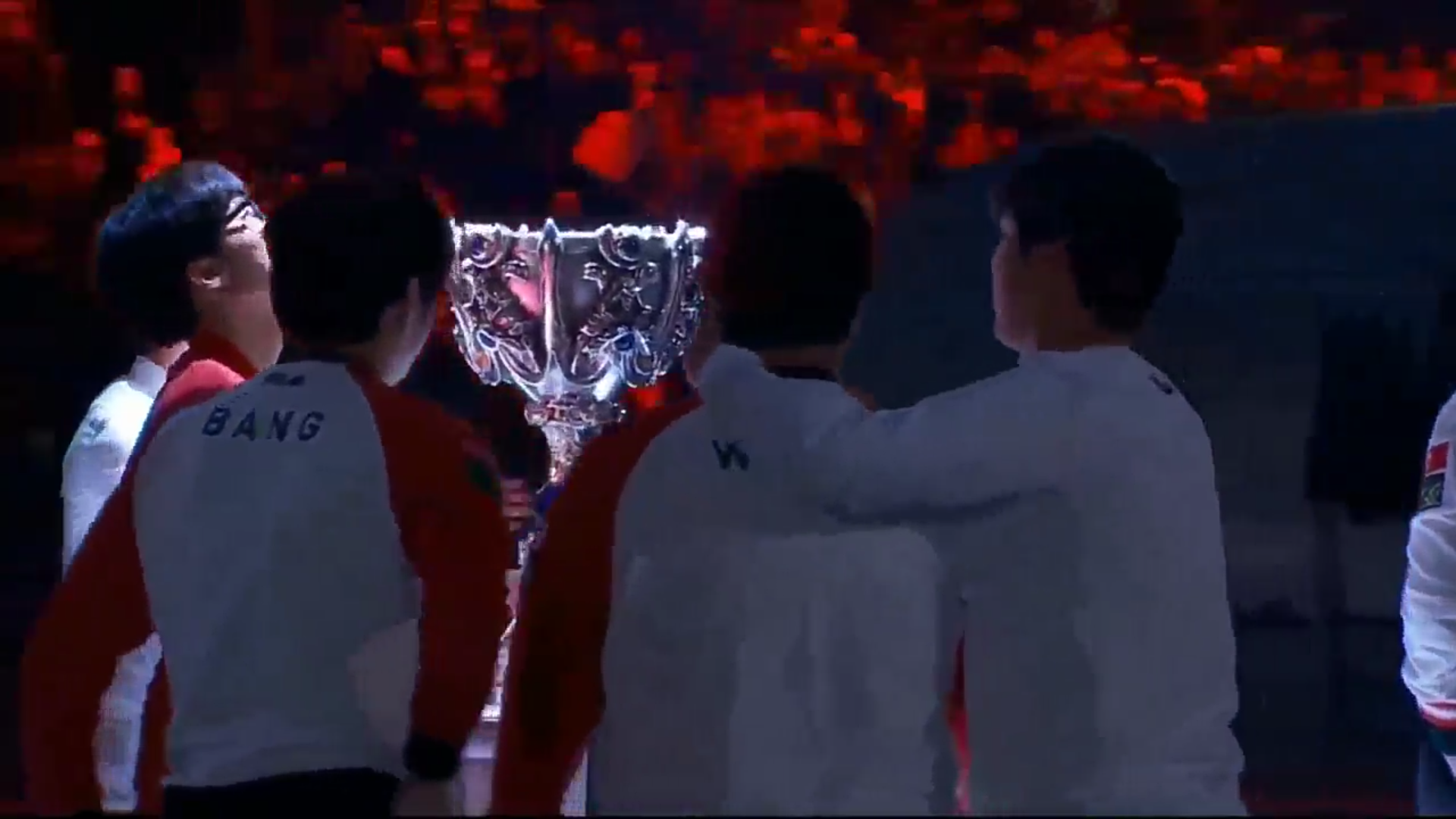 Screenshot des Gewinnerteams SKT T1