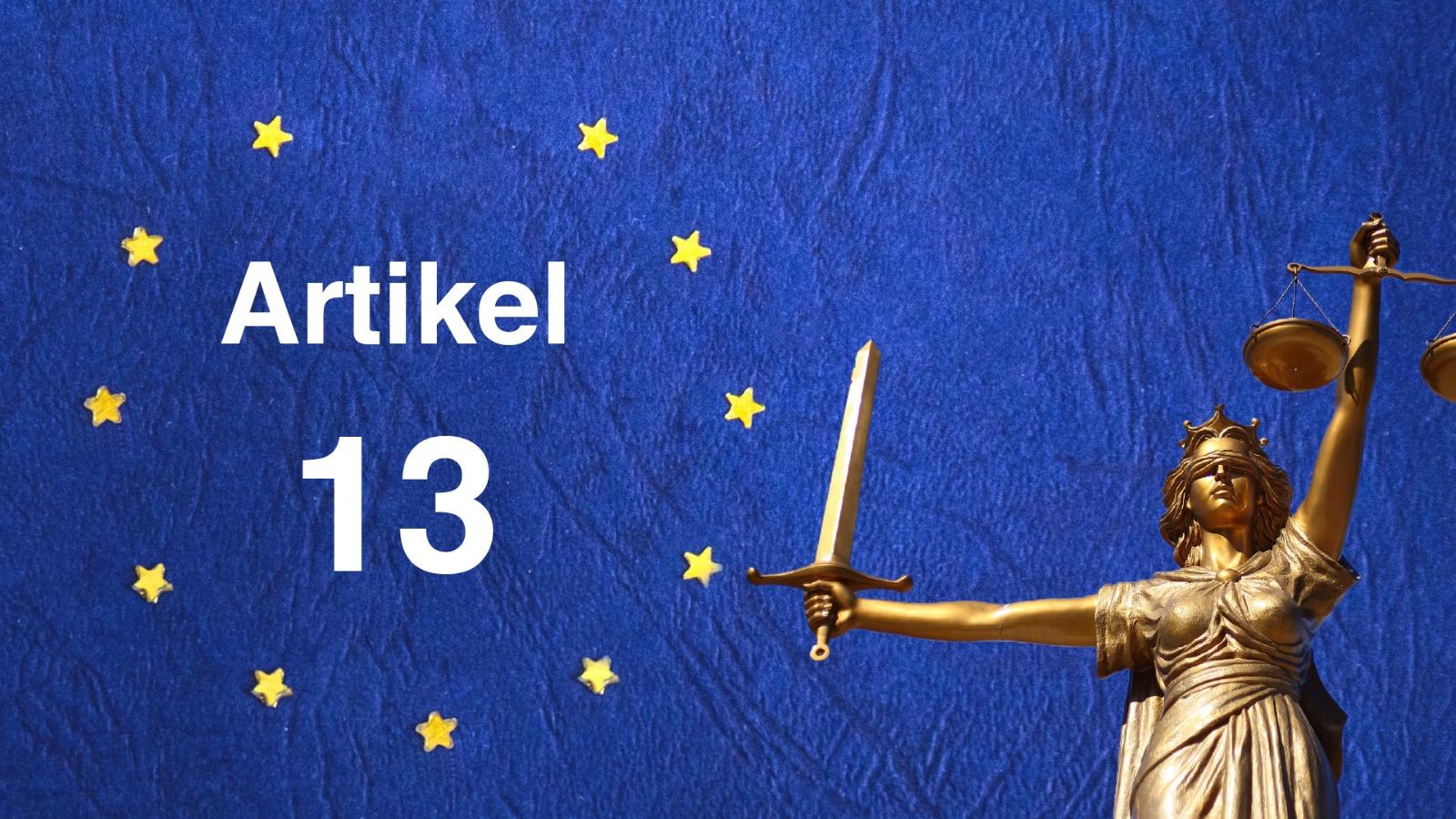 Europa Artikel 13