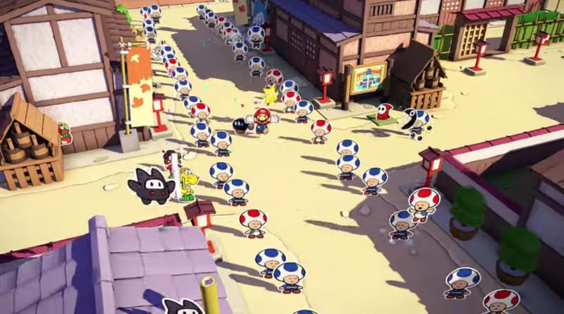 Paper Mario: Der Origami-König und die Äonentor-Kontroverse