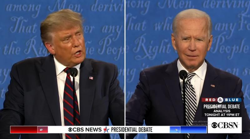 Trump vs. Biden – das TV-Duell und die Corona-Infektion