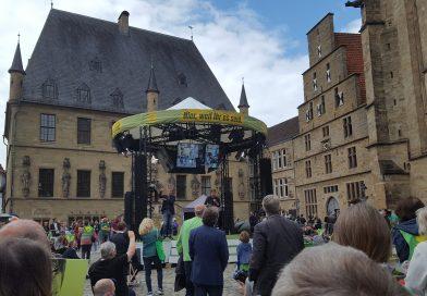 Robert Habeck in Osnabrück – Wahlkampfauftritt der Grünen